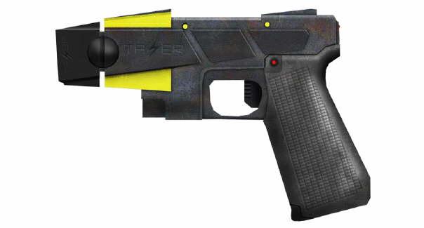 Taser Waffe